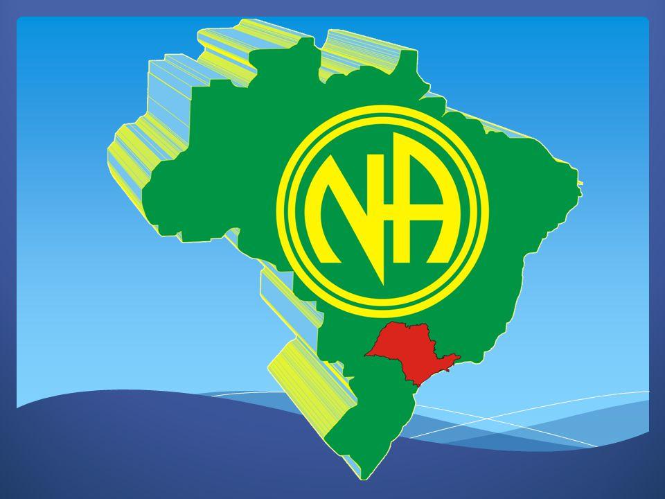 NARCÓTICOS ANÔNIMOS NARCÓTICOS ANÔNIMOS COMITÊ SERVIÇOS REGIÃO GRANDE SÃO PAULO COMITÊ SERVIÇOS REGIÃO GRANDE SÃO PAULO CENSO MAIO 2012 CENSO MAIO 2012 SERVIÇO DE UTILIDADE PÚBLICA (11) 3101-9626 CSAS: ABC, Extremo Sul, Leste Paulistana, Nova Leste, São Paulo, SP Norte e Sul (11) 3852-6655 CSA: Mauá (13) 3289-8645 CSAS: Caminho do Mar, Mares do Sul E Pérola do Atlantico (12) 9775-6779 CSAS: Novo Vale e Vale do Paraíba
