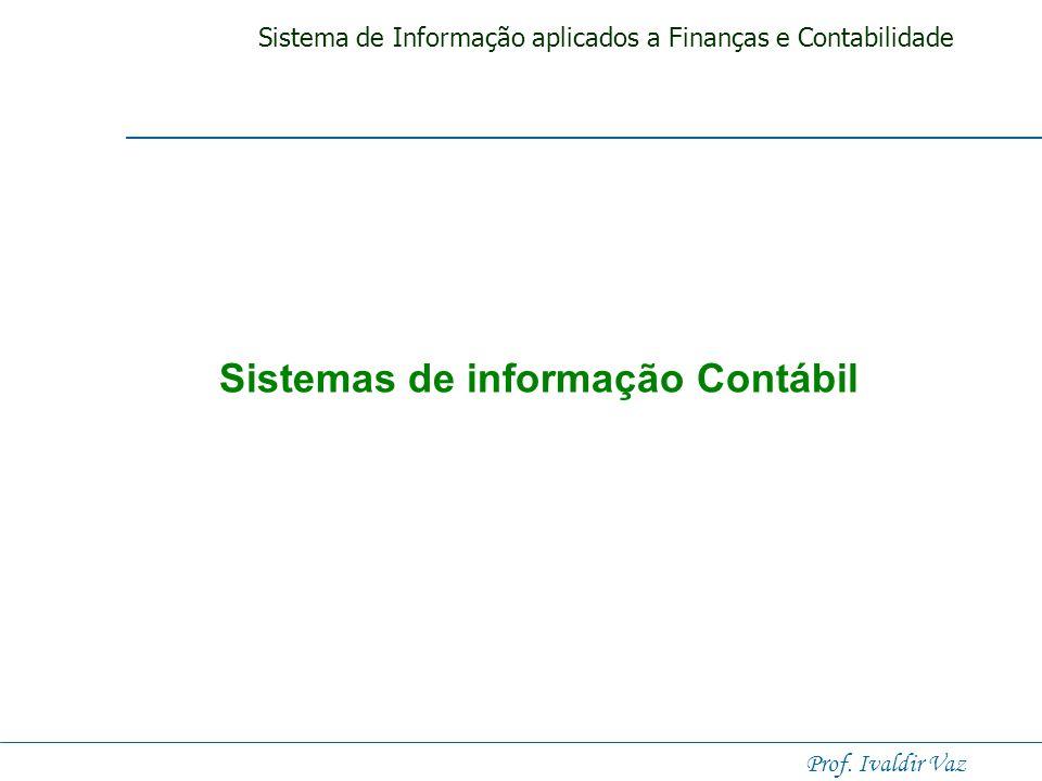 Sistema de Informação aplicados a Finanças e Contabilidade Prof. Ivaldir Vaz Sistemas de Informação para Operações das Empresas Marketing Administraçã