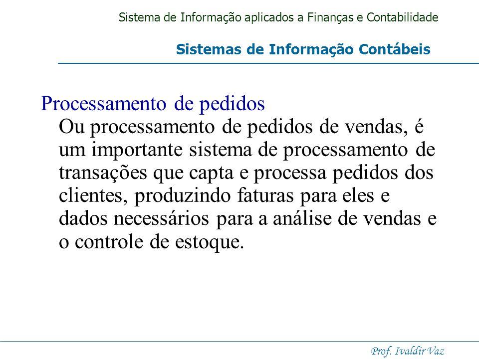 Sistema de Informação aplicados a Finanças e Contabilidade Prof. Ivaldir Vaz Folha de pagamento. Sistemas de folha de pagamento recebem e mantêm dados