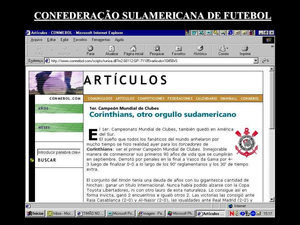 CONFEDERAÇÃO SULAMERICANA DE FUTEBOL