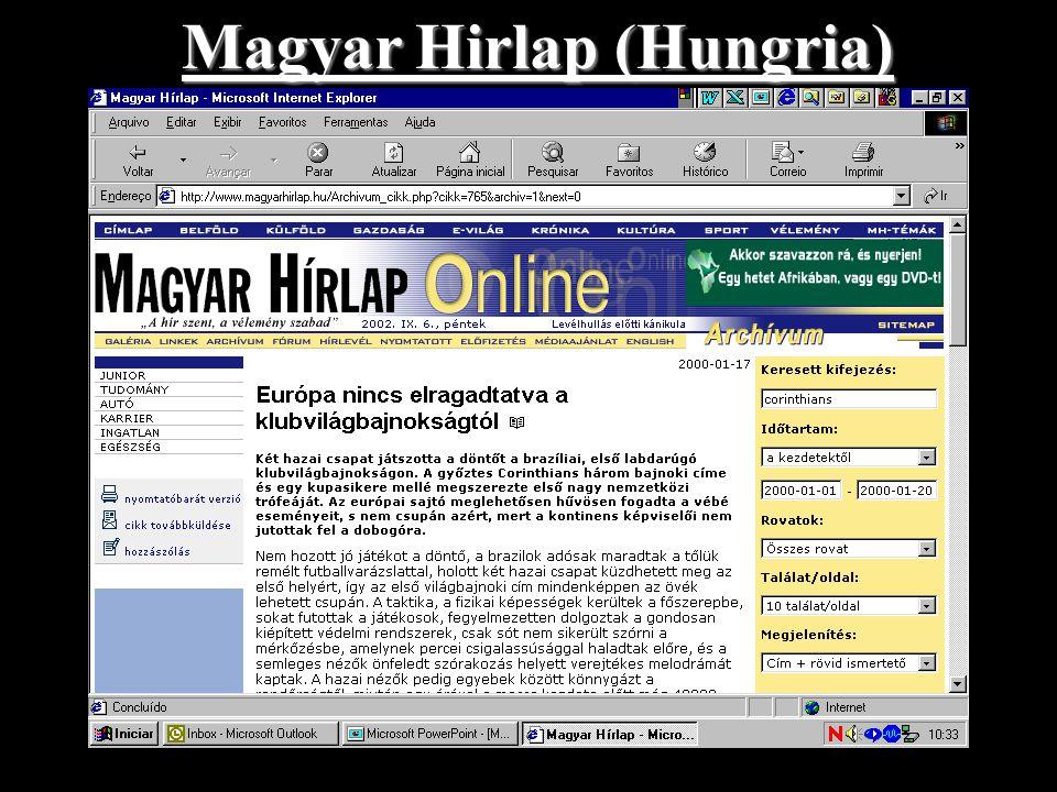 Magyar Hirlap (Hungria)