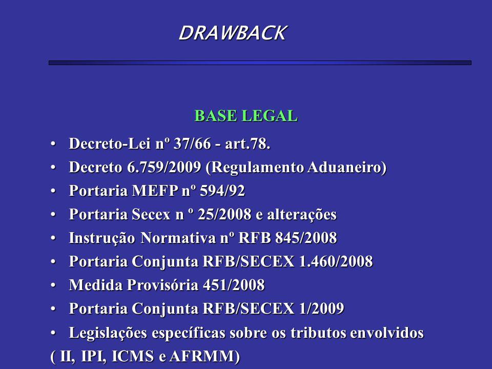 Objetivo: reposição de estoque Prazo máximo p/utilização de DIs Apresentação do Pedido de DB (agências do BB) Apresentação do RUD Utilização de formulários (papel) MODALIDADE ISENÇÃO