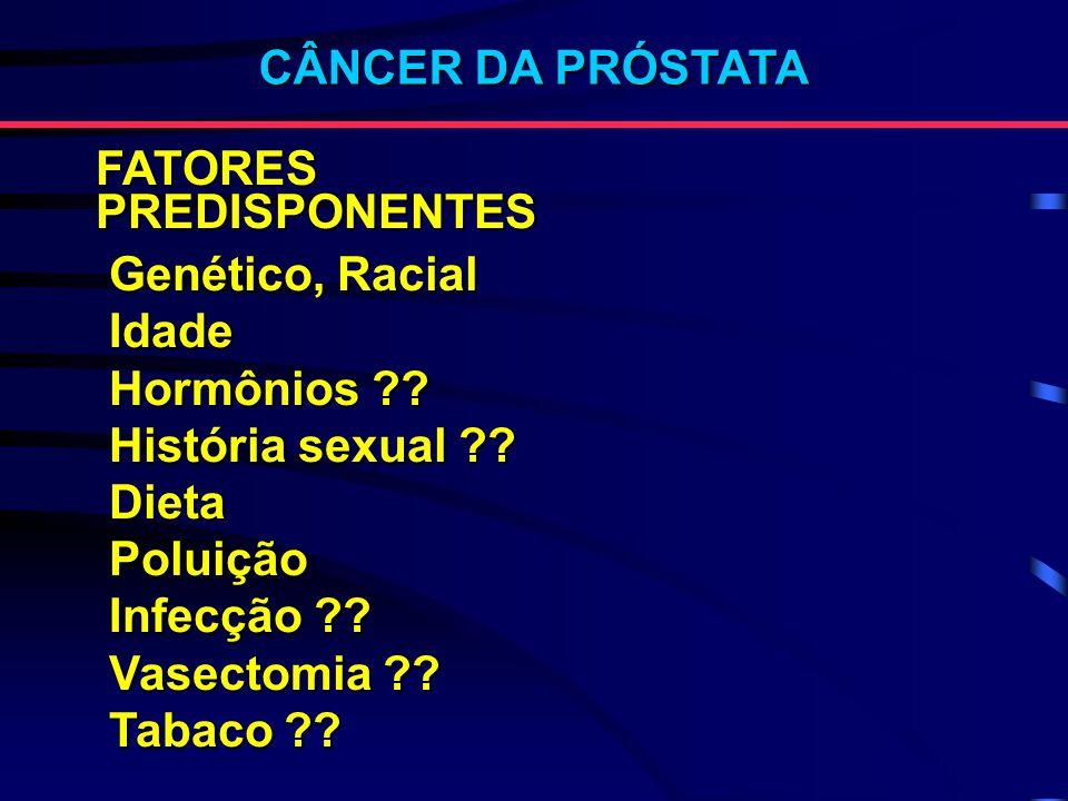 Toque Retal Contudo, apesar das limitações, ainda é uma etapa obrigatória na avaliação clínica dos pacientes com ou sem queixas urinárias »I Consenso Brasileiro de Câncer de Próstata - 98