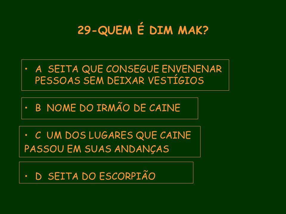 29-QUEM É DIM MAK.