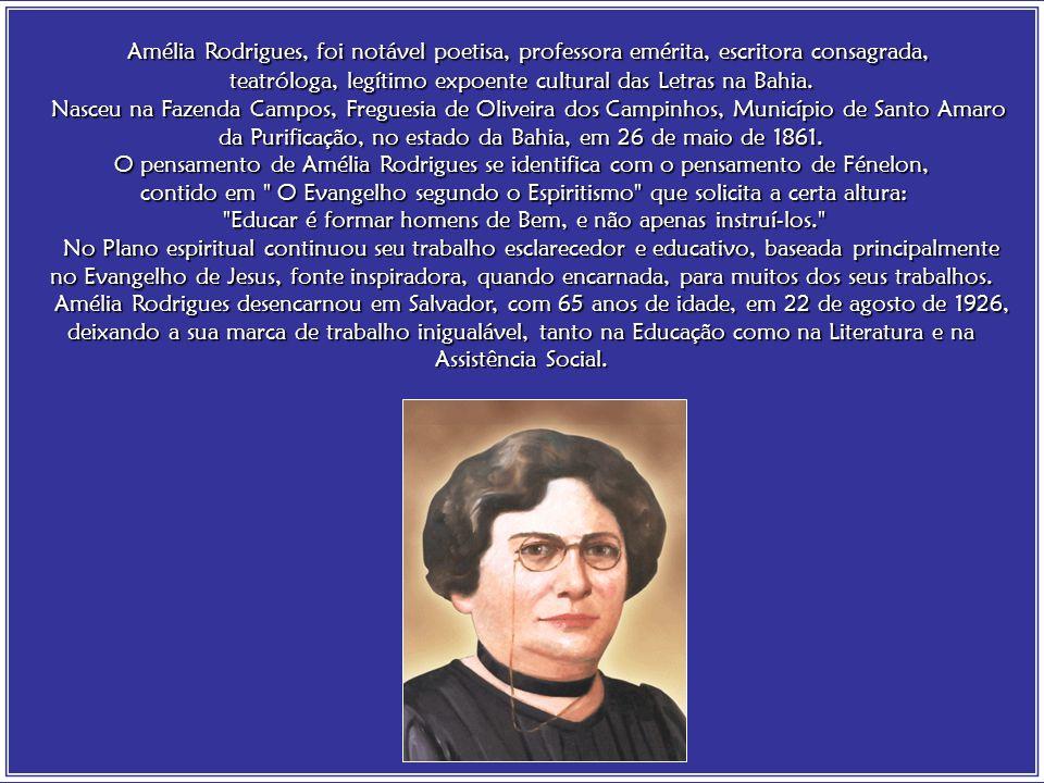 Divaldo Franco / Amélia Rodrigues Enquanto permanecer a sombra nos sentimentos humanos, sempre Ele estará aguardando em Luz.