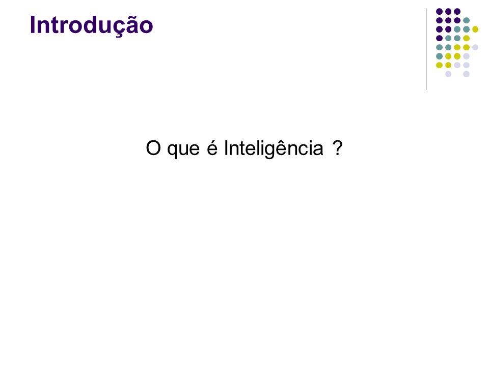 Introdução - Conteudo O que é Inteligência Computacional (IC) .