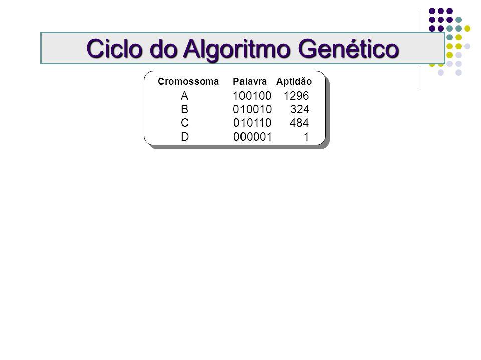 Fluxo do Algoritmo Genético