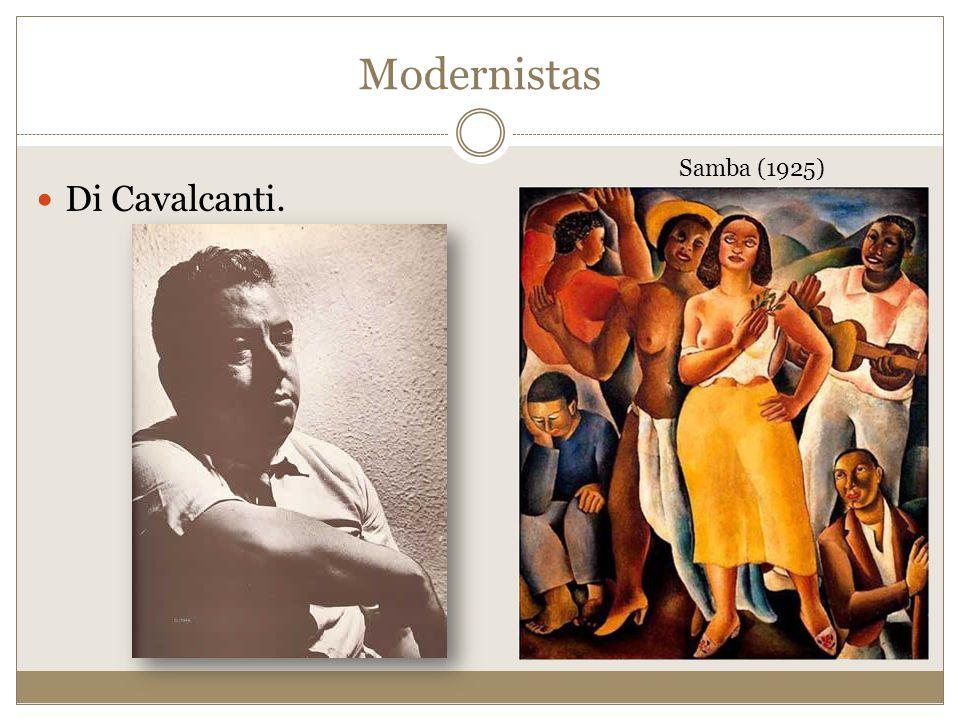 Di Cavalcanti. Samba (1925) Modernistas