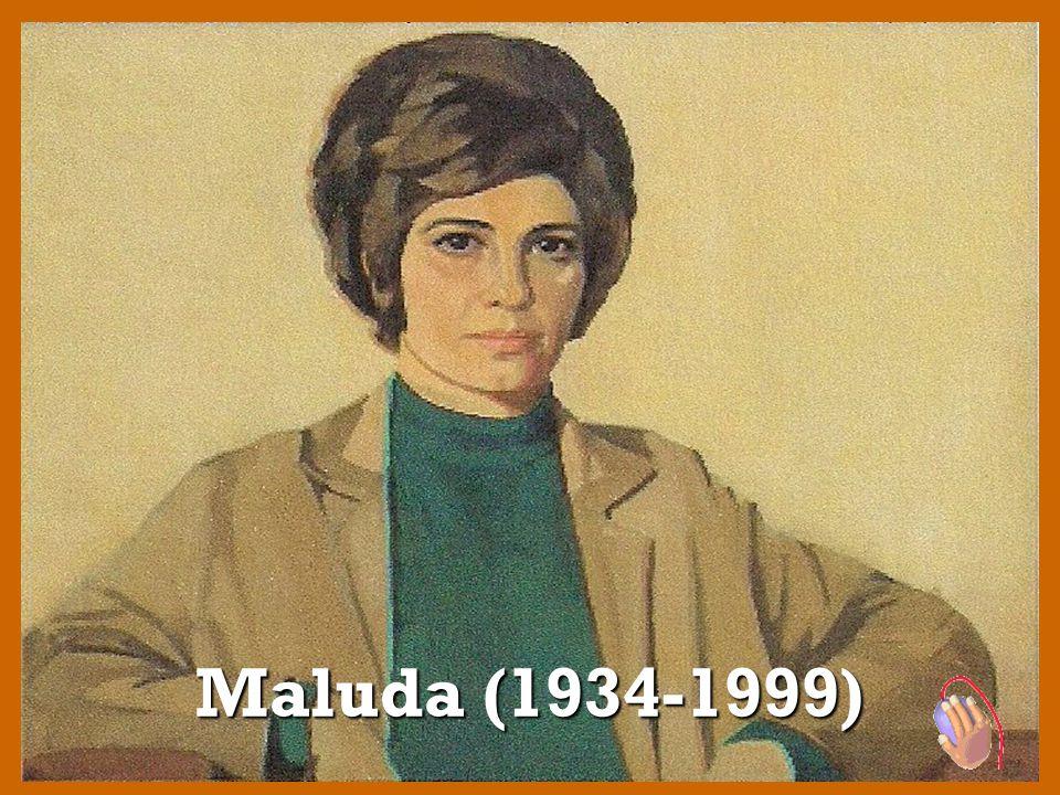 Da vasta obra de Maluda fazem parte algumas serigrafias.