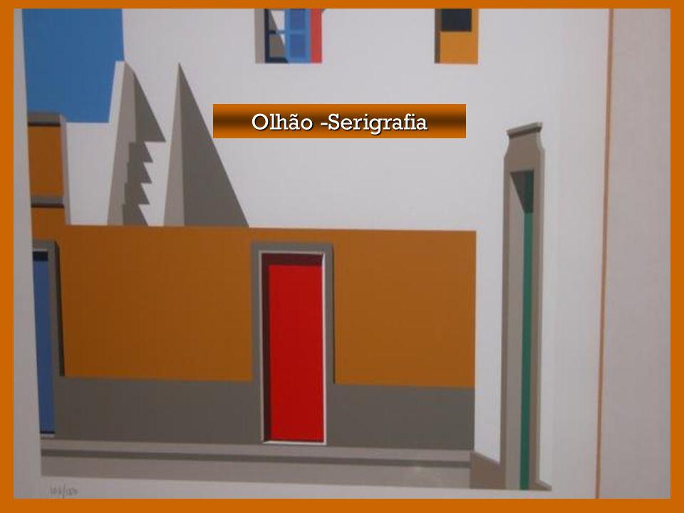 Da vasta obra de Maluda fazem parte algumas serigrafias. Da vasta obra de Maluda fazem parte algumas serigrafias. Algarve (serigrafia)