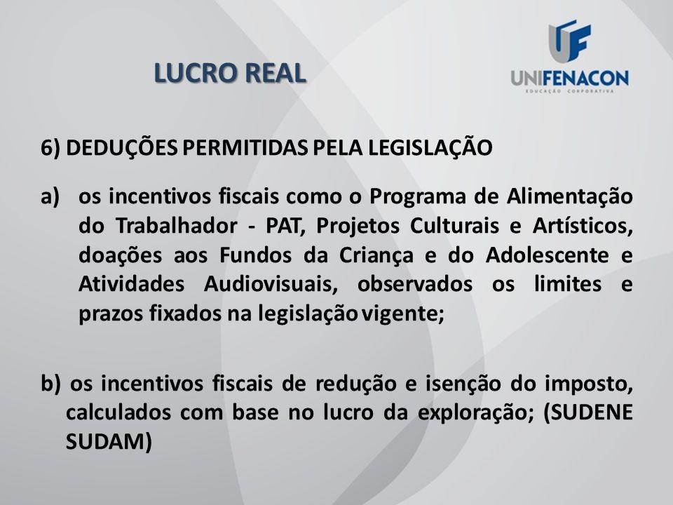 4) FORMAS DE RECOLHIMENTO: TRIMESTRAL ANUAL (COM RECOLHIMENTOS POR ESTIMATIVA) 5) ADICIONAL IMPOSTO DE RENDA: SOBRE PARCELA DO LUCRO REAL QUE EXCEDER A R$ 20.000,00 MENSAIS, É DEVIDO O PAGAMENTO DE UM VALOR ADICIONAL DE 10%.
