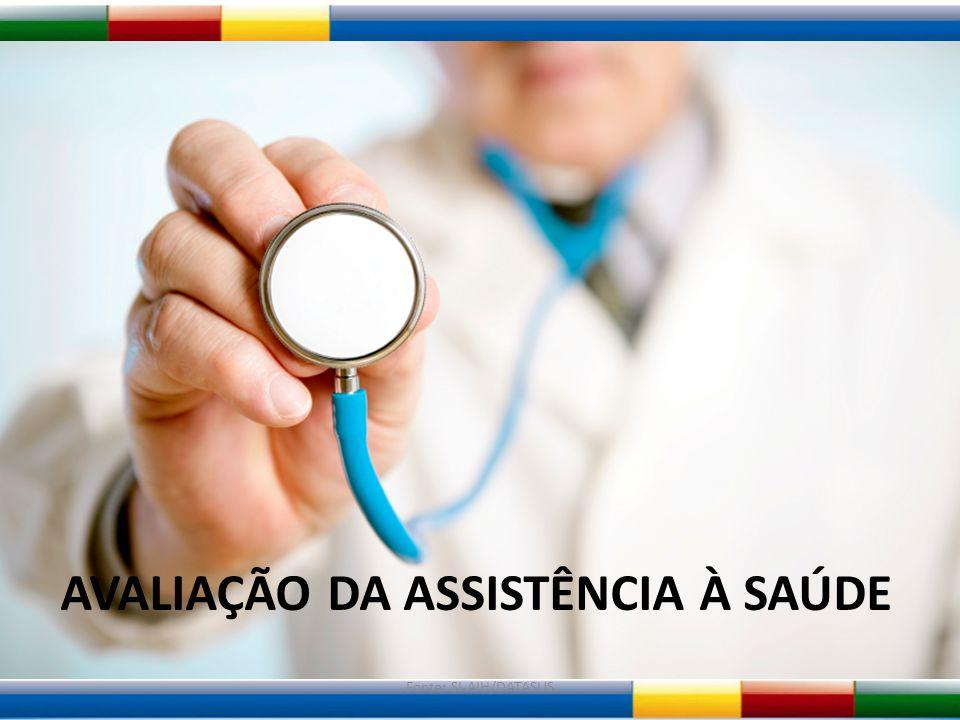 Fonte: SI-AIH/DATASUS AVALIAÇÃO DA ASSISTÊNCIA À SAÚDE