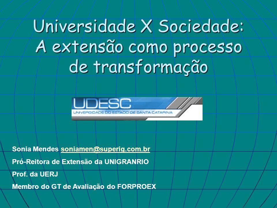 Da transmissão do conhecimento as práticas sociais:perspectiva histórica Modelo universitário - baseado na transmissão do conhecimento.