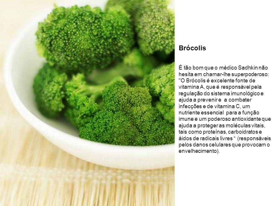 Brócolis É tão bom que o médico Sadhkin não hesita em chamar-lhe superpoderoso: