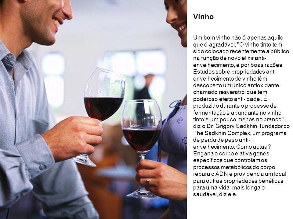 Vinho Um bom vinho não é apenas aquilo que é agradável.