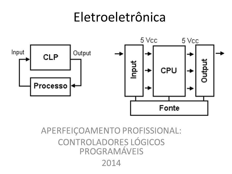 Eletroeletrônica APERFEIÇOAMENTO PROFISSIONAL: CONTROLADORES LÓGICOS PROGRAMÁVEIS 2014