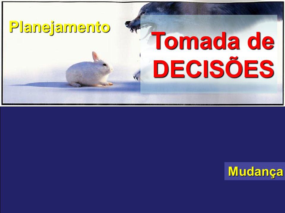 Tomada de DECISÕES SOBREVIVÊNCIA ADAPTAÇÃO NO MERCADO Planejamento Mudança