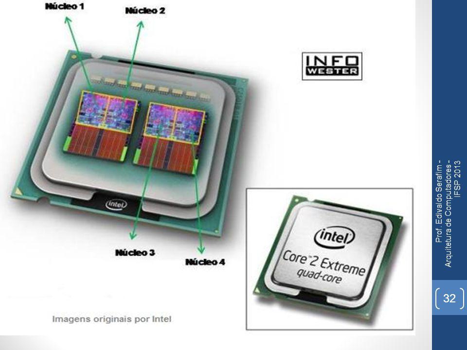 Prof. Edivaldo Serafim - Arquitetura de Computadores - IFSP 2013 32