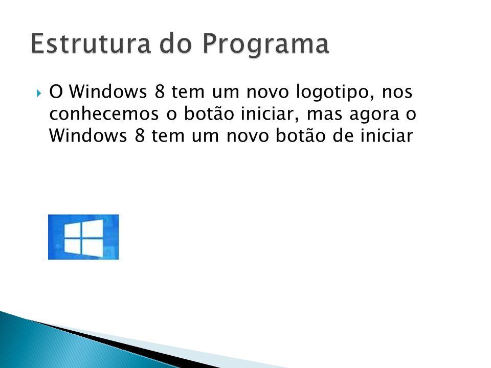 O Windows 8 tem um novo logotipo, nos conhecemos o botão iniciar, mas agora o Windows 8 tem um novo botão de iniciar