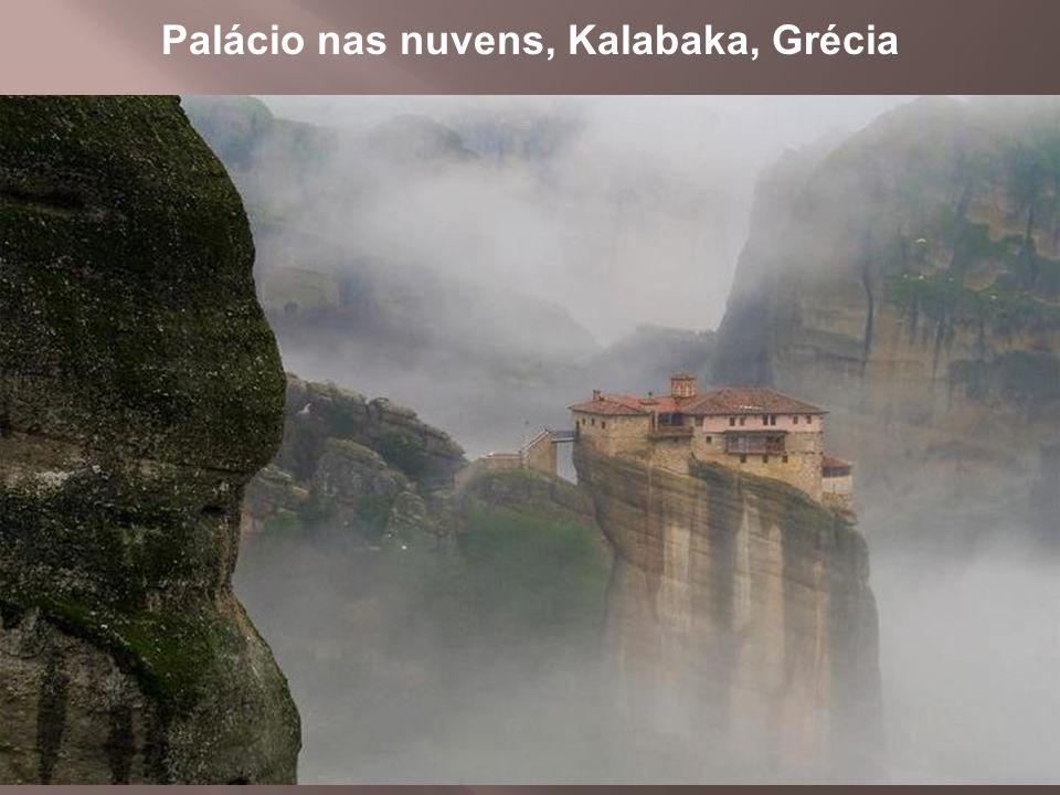 1 Palácio nas nuvens, Kalabaka, Grécia