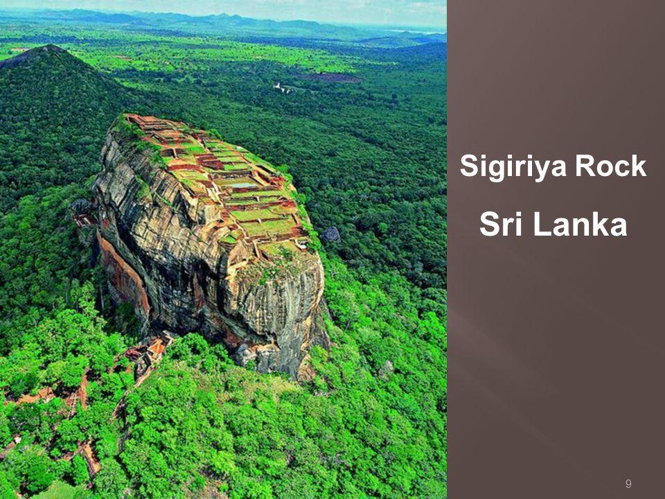 9 Sigiriya Rock Sri Lanka