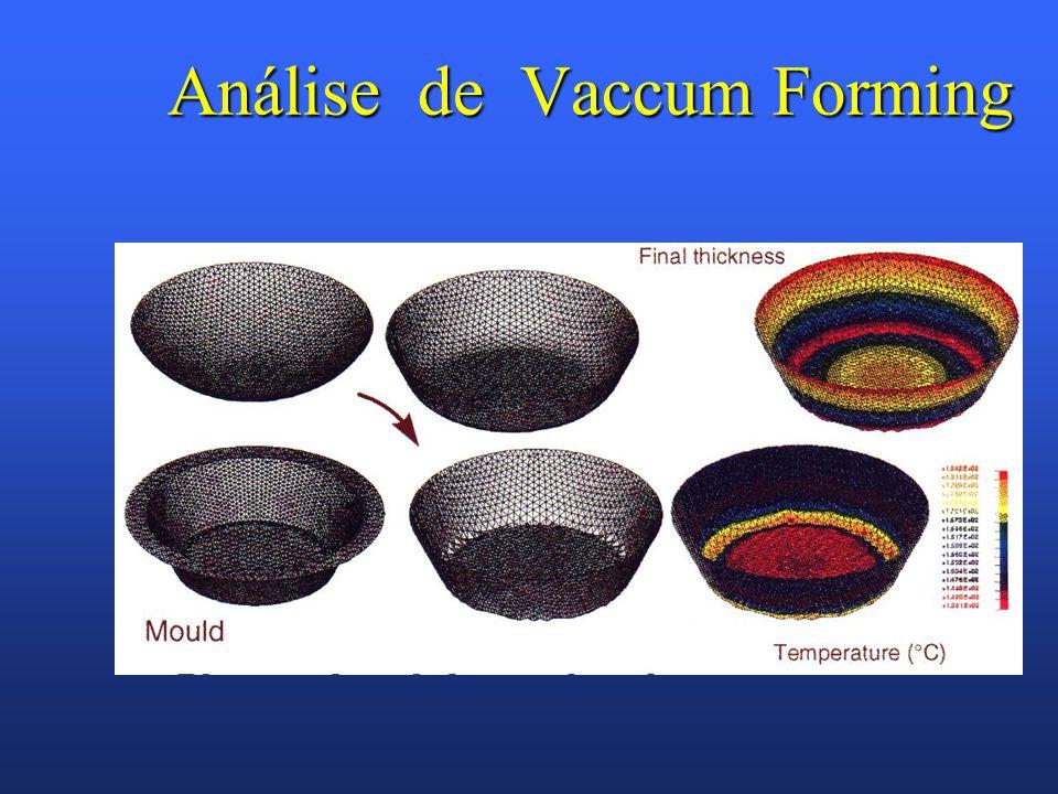 Análise de Vaccum Forming