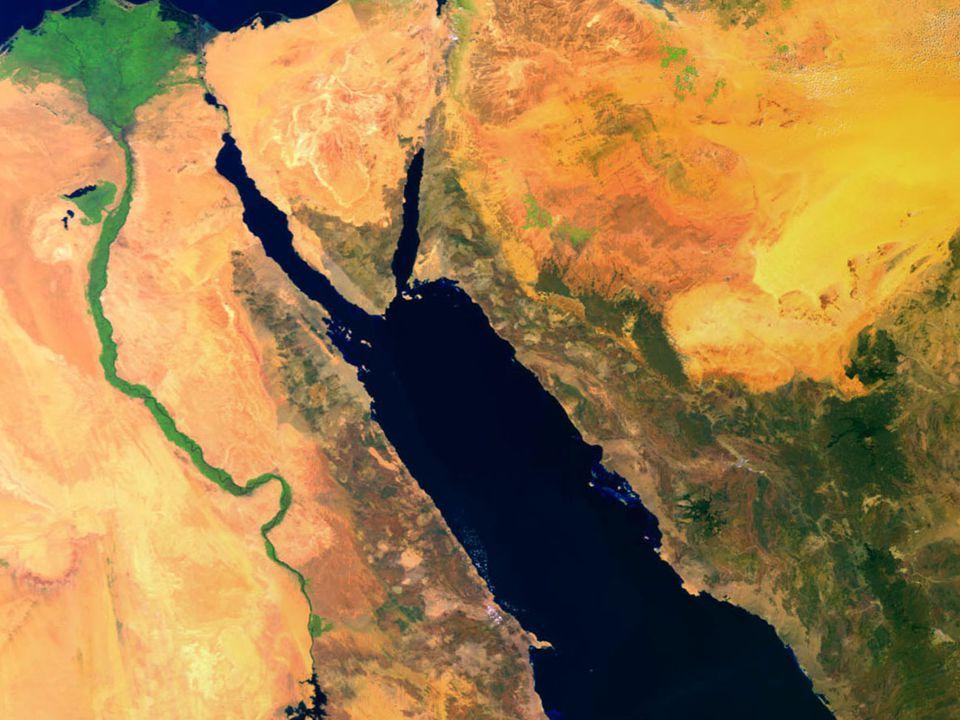 MAR VERMELHO e Delta do Nilo