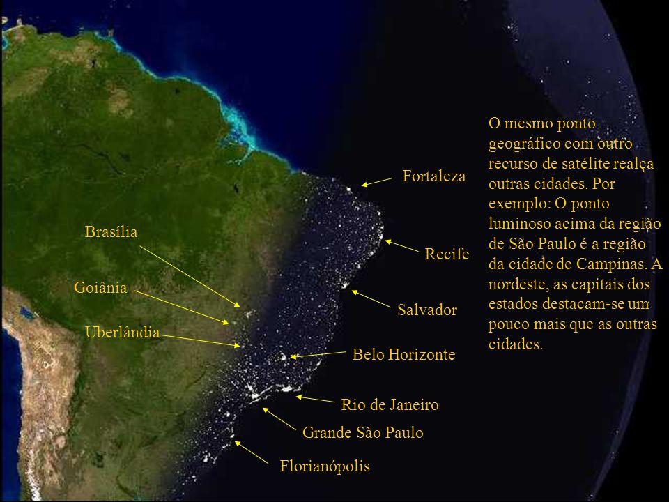 Grande São Paulo Rio de Janeiro Belo Horizonte Salvador Oceano Atlântico Esta região azul mais clara é a plataforma continental brasileira.