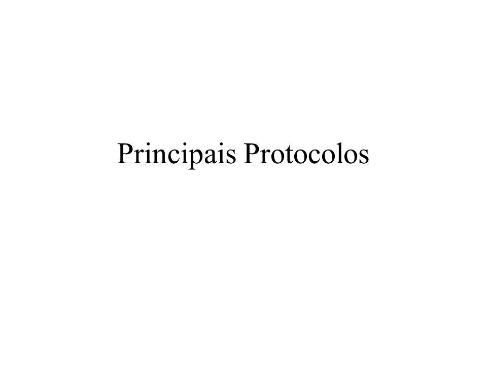 Principais Protocolos