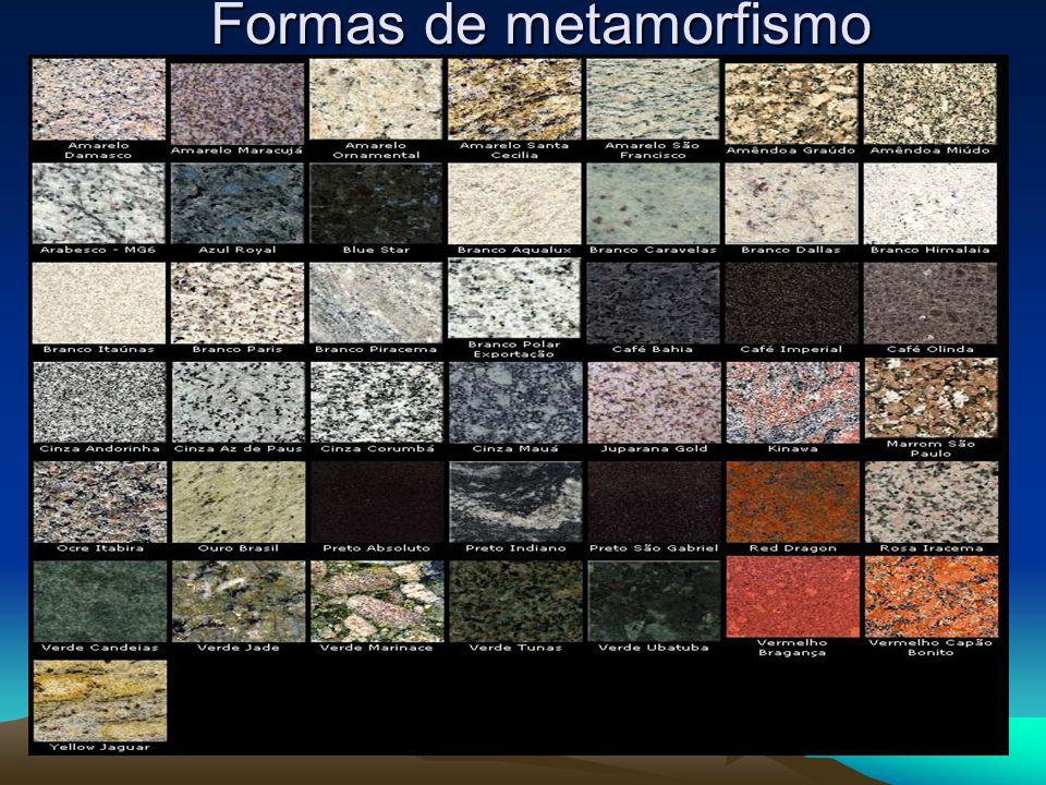 Formas de metamorfismo