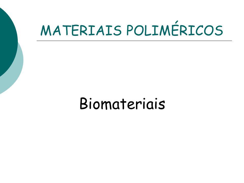 MATERIAIS POLIMÉRICOS Biomateriais