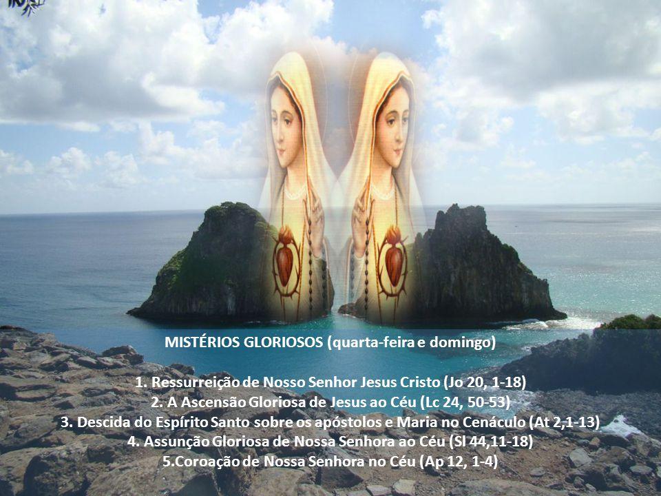 MISTÉRIOS GLORIOSOS (quarta-feira e domingo) 1.