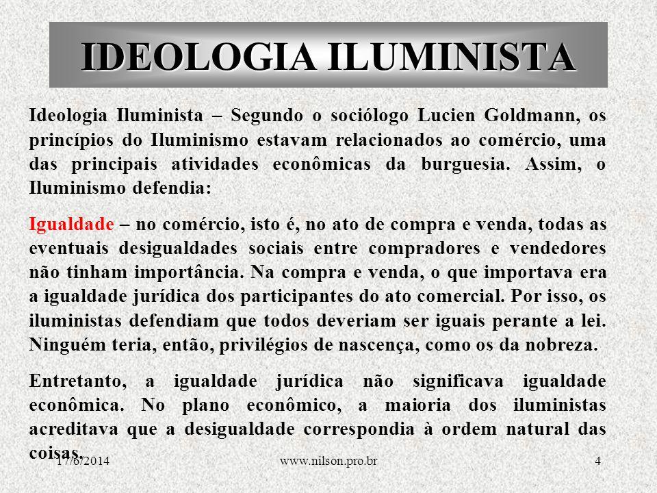 ORIGEM DO ILUMINSMO O iluminismo tem origem no Renascimento, o primeiro grande momento de construção de uma cultura burguesa, na qual a razão e a ciência são as bases para o entendimento do mundo.