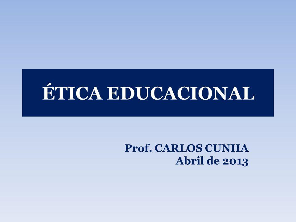 PROPOSTA O curso propõe analisar a ética e a moral tendo como referência o processo educacional brasileiro.