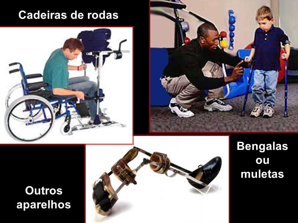 Cadeiras de rodas Bengalas ou muletas Outros aparelhos