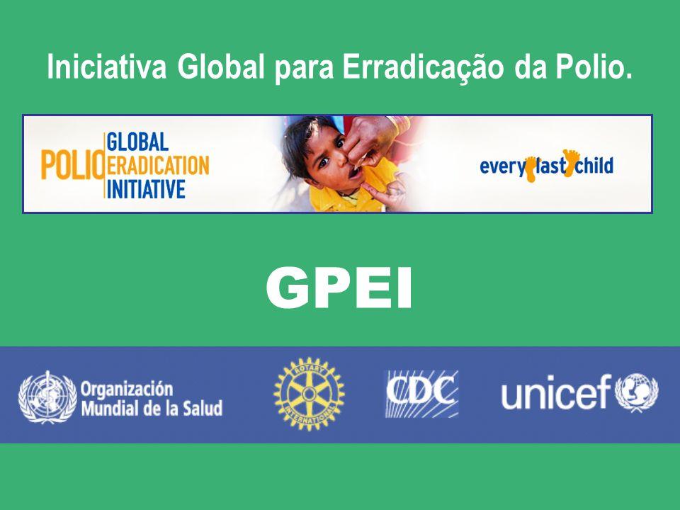 Organização Mundial da Saude. Fundo das Nações Unidas para a Infância. Centros para Control e Prevenção de Enfermidades, dos EE.UU. Em 1988, Rotary as