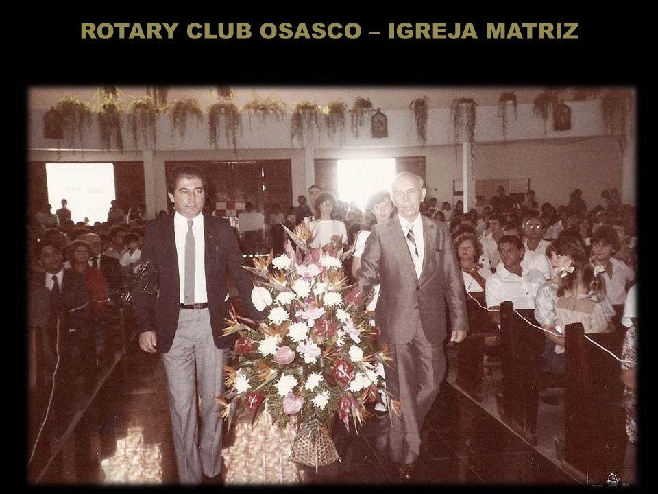 Homenagem a esposa Srª. Yolanda Battiston – Fundadora da AFRO (Associação das Famílias de Rotarianas de Osasco