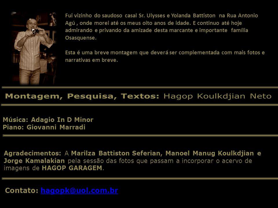 Ezio Melli - Silvio Gagliandi - Ulysses Battiston - Hugo da Silva CAMPANHA OURO PARA O BEM DO BRASIL