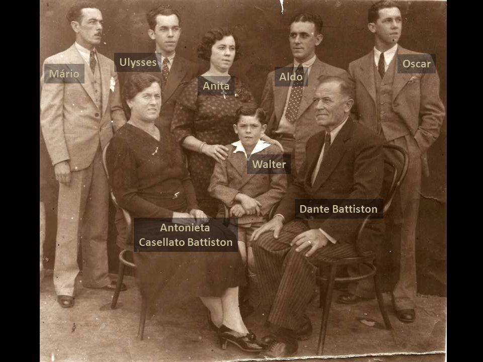 Mário Ulysses Anita Aldo Oscar Antonieta Casellato Battiston Dante Battiston Walter