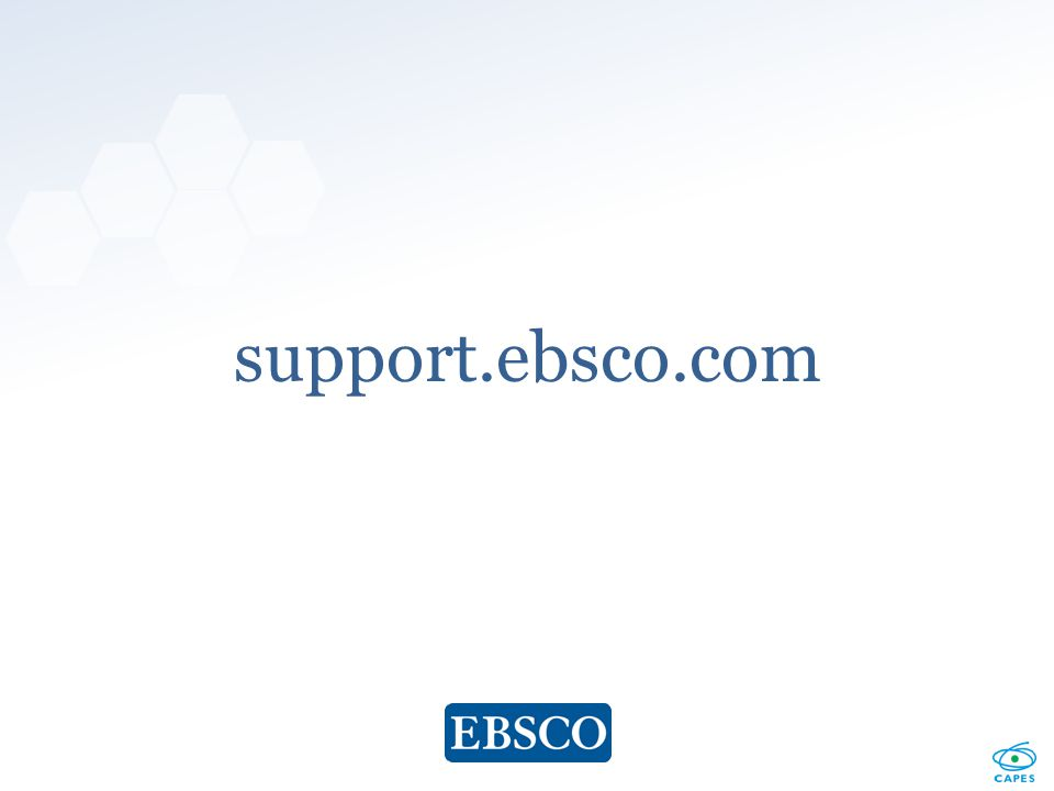 www.ebsco.com support.ebsco.com