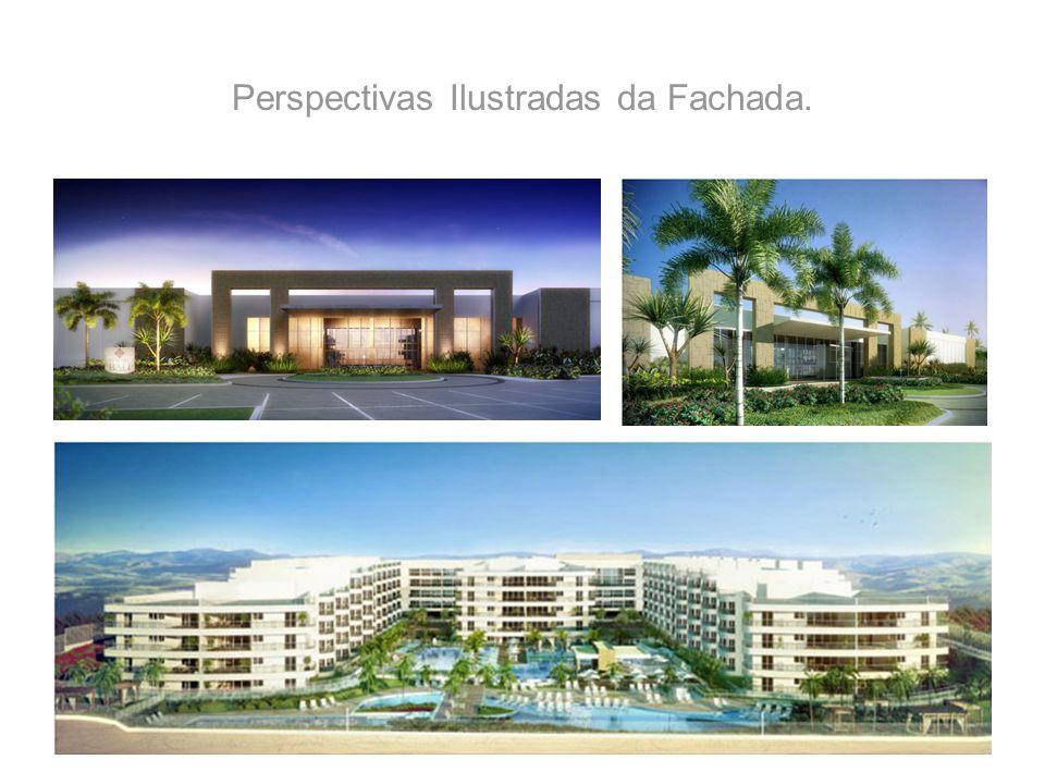 Perspectivas Ilustradas da Fachada.