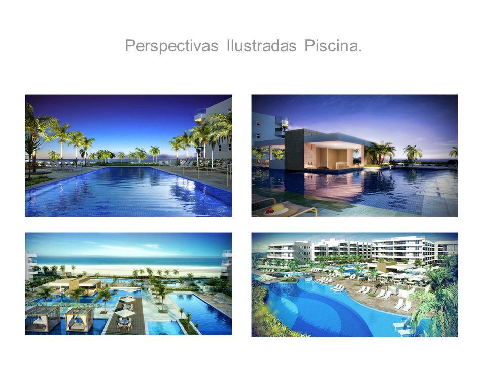 Perspectivas Ilustradas Piscina.