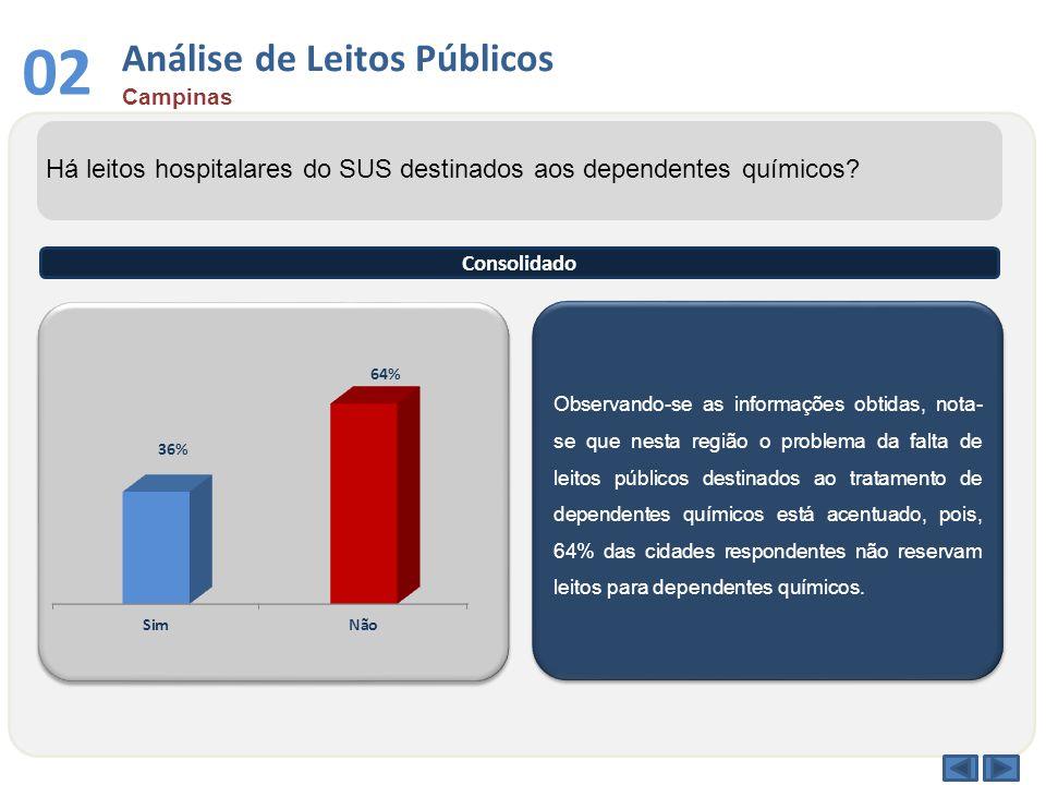 03 Análise por Faixa Etária Campinas Qual a faixa etária entre os dependentes químicos atendidos no sistema público.
