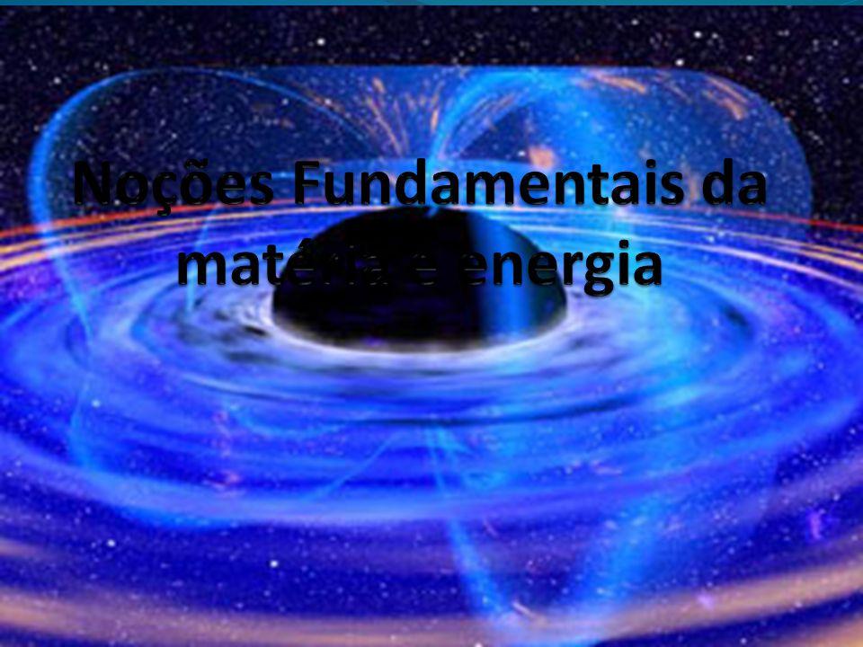 Matéria: tudo que ocupa lugar no espaço e possui massa.