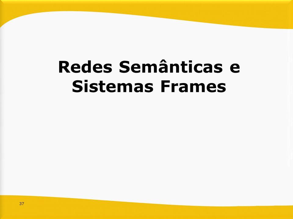 37 Redes Semânticas e Sistemas Frames