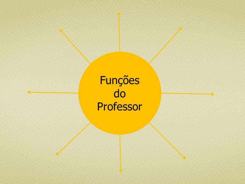 Funções do Professor