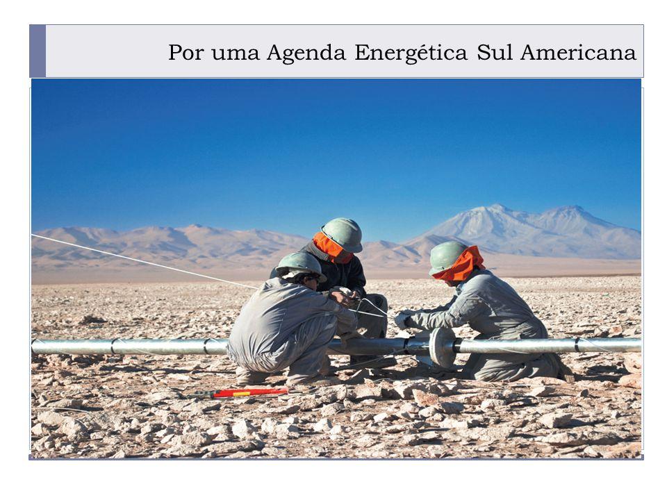 PROGRAMA PLACTED Por uma Agenda Energética Sul Americana