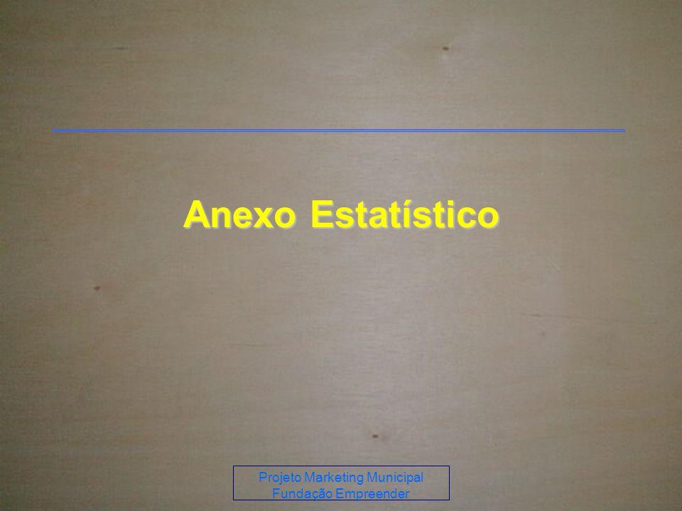 Projeto Marketing Municipal Fundação Empreender Anexo Estatístico