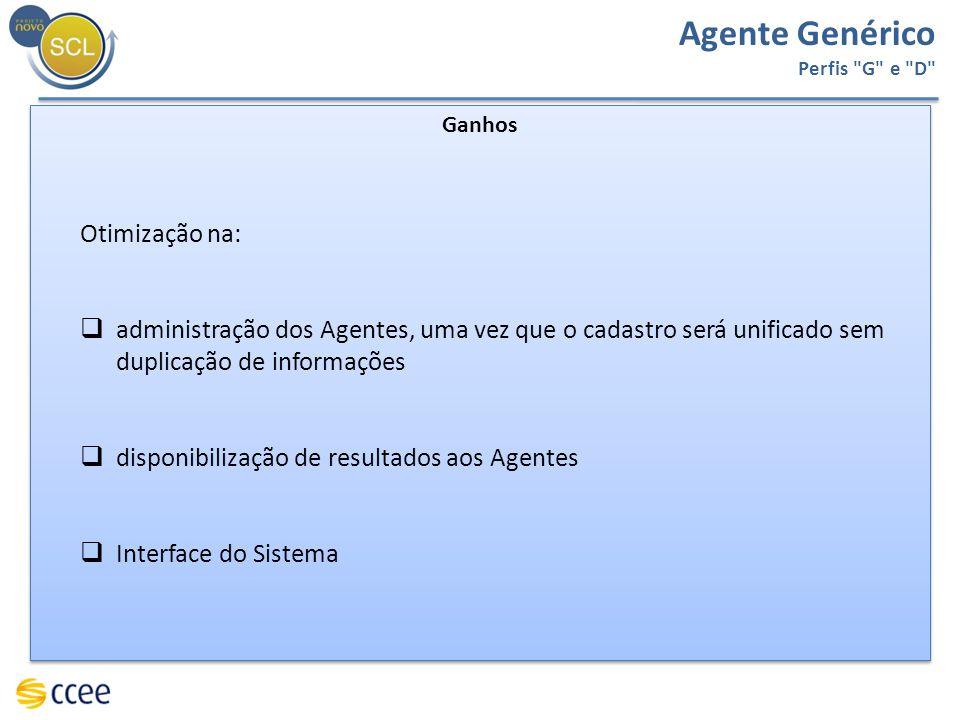 Agente Genérico Perfis