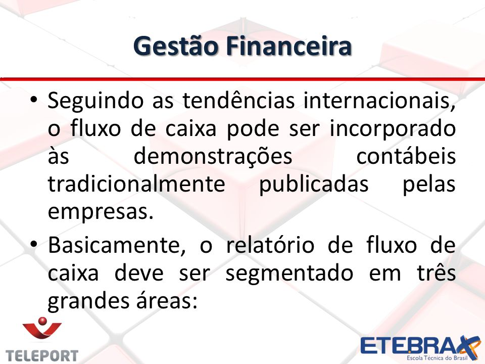 Gestão Financeira ANOPROJETO APROJETO B 1 2.000 3.000 2 2.000 3 1.500